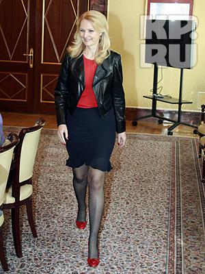 Татьяна Голикова Сама себе стилист.