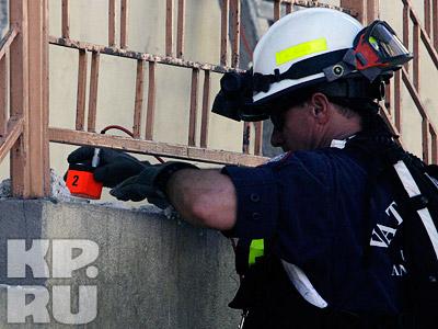 Спасатели используют различную технику для поиска