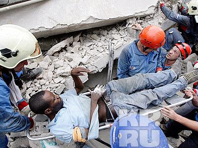 Еще один житель Гаити спасен российскими спасателями