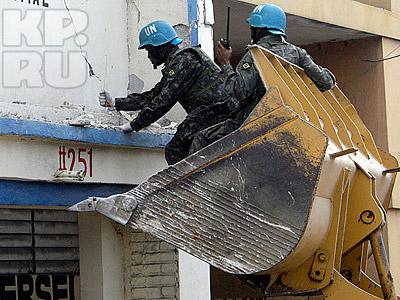 Бразильцы ищут выживших