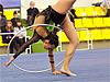 Показательные выступления по художественной гимнастике