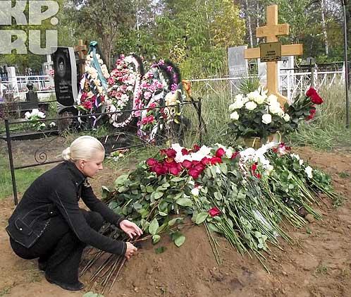 Сашу похоронили 28 сентября на Юго-Западном кладбище.  Фото: Александр ТКАЧЕВ.