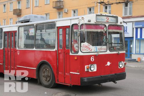 Троллейбусы своими маршрутами охватывают большую часть города Фото: KP.RU - Тверь.