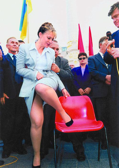 Юлия Тимошенко: У меня все натуральное – и политического деятеля, и коса!