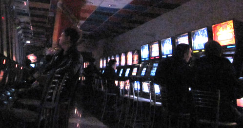 Фото сделано скрытой камерой в том самом клубе, где работала наш корреспондент: самый разгар стрижки бабла.