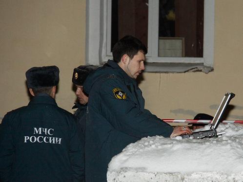 Спасатели тут же прибыли на место ЧП.