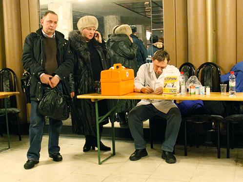 Жильцов рухнувшего подъезда пригрели в ДК имени Добрынина.