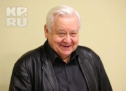 Олег Табаков заражал своим обаянием и жизнелюбием