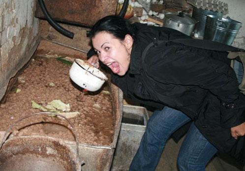А что хотела изобразить на этом снимке Ирина Левандовская, остается загадкой. Фото с сайта www.burinfo.org.