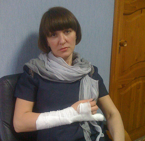 С произволом сотрудников ДПС Наталья Панарина столкнулась впервые. Фото из архива героини публикации.