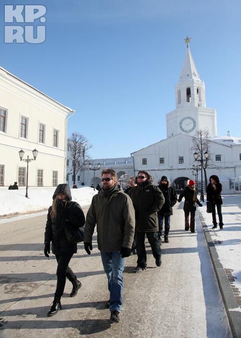 Гости побывали в музеях и погуляли по Кремлю