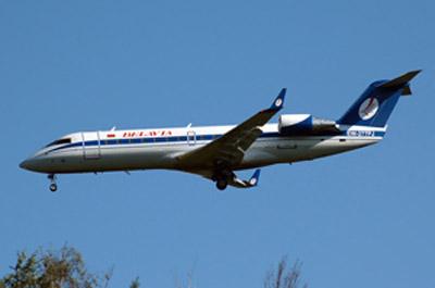Тот самый самолет. Фото сделано 18 июня 2010 года