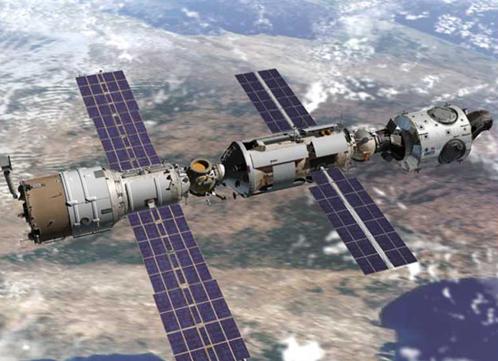 Так МКС выглядела в 2000 году