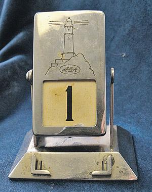 Автомеханический календарь Власика. Говорят, генерал очень любил первое число.