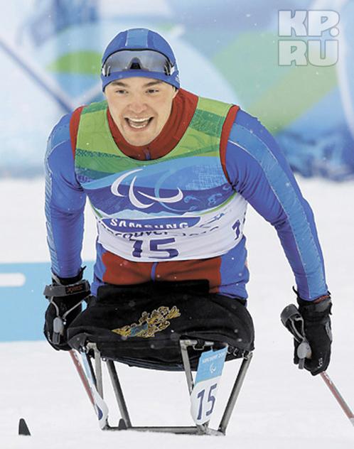Четырехкратный паралимпийский чемпион Ирек Зарипов уже опробовал лыжню