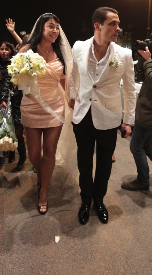 Лолита вышла замуж по обряду каббалы