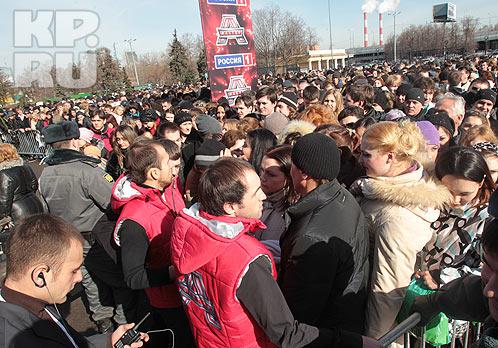 Первый день кастинга собрал толпы.