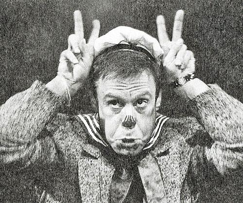 """Клоун Шифрин из дуэта с Юрием Гальцевым """"Ух ты, мы вышли из бухты"""""""