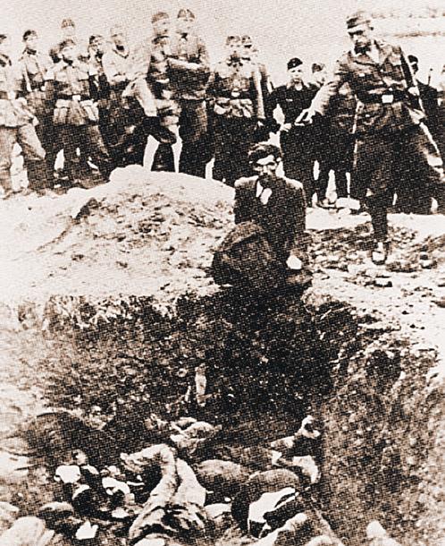 Выстрел в затылок жертве был любимым приемом гитлеровских палачей...
