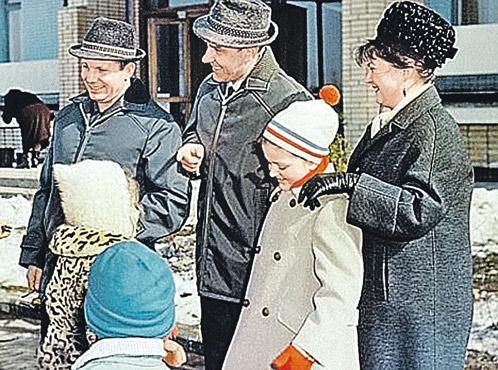 Юрий Гагарин и Владимир