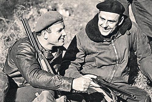 Гагарин и Комаров любили на. «