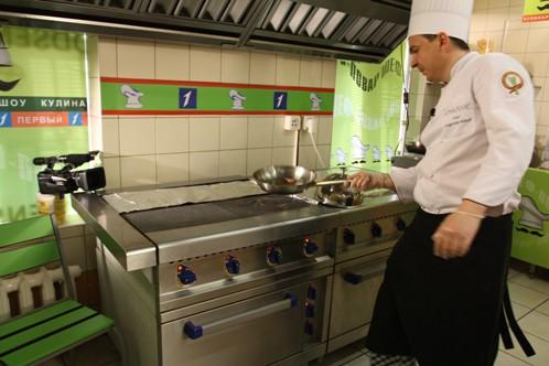 За процессом на кухне следят несколько камер