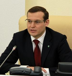 Председатель Поволжского банка Сбербанка России Дмитрий Курдюков