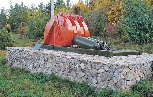 «Сейсмооружие» сегодня не работает, его водрузили на постамент под Бишкеком.