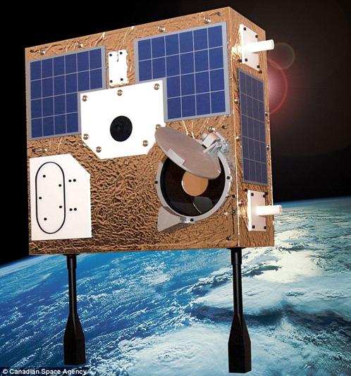 Канадский орбитальный телескоп MOST похож на чемодан