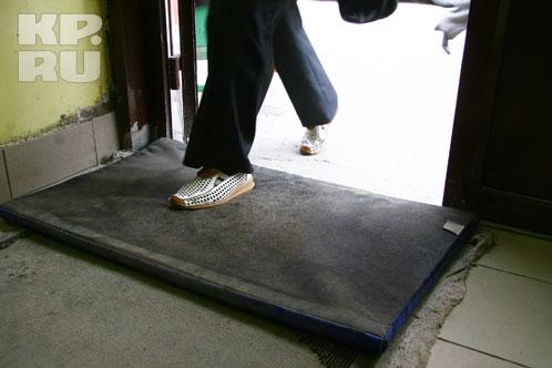 Пришел на рынок - вытри ноги о дезинфекционный коврик