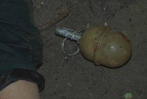 При себе у боевика нашли гранату РГД