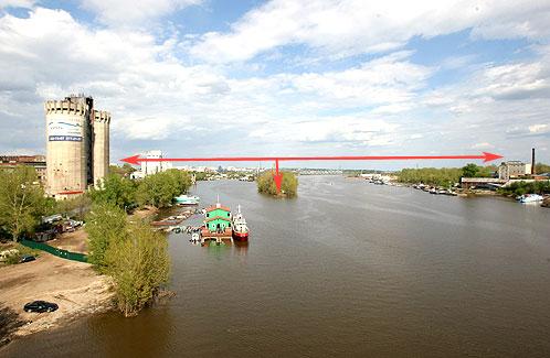 Мост соединит берега, опираясь