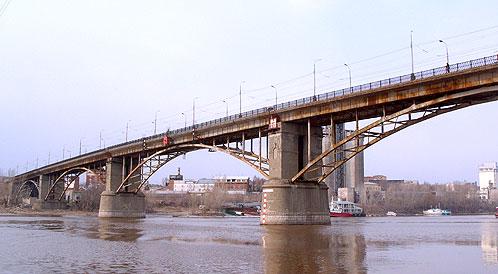 Старый самарский мост служит