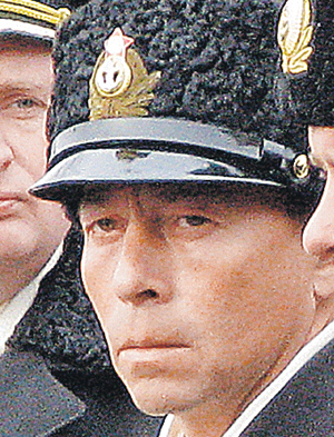 Командир «Нерпы» Дмитрий Лаврентьев