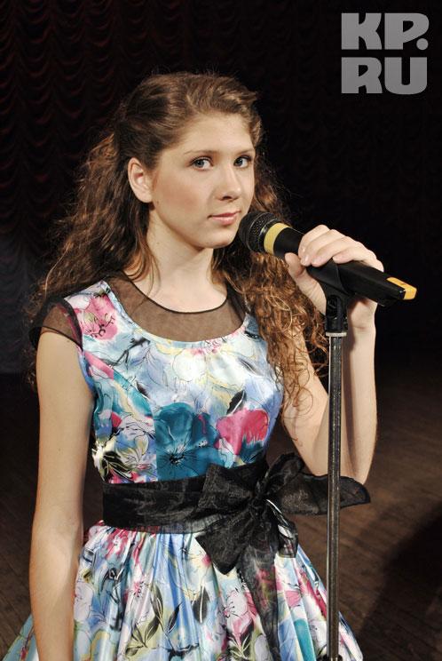 15-летняя Анна Агафонова будет выступать под номером 11 с песней