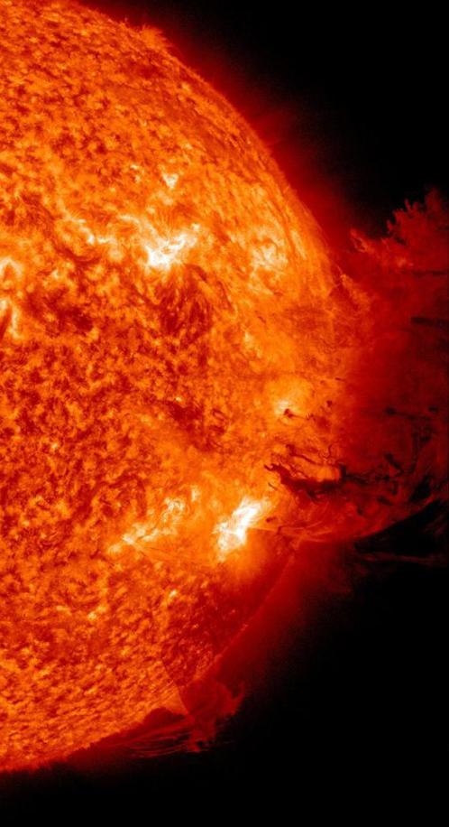 Чудовищный выброс, случившийся в начале июня, чудом миновал Землю