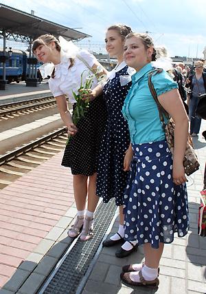 На вокзале Бреста