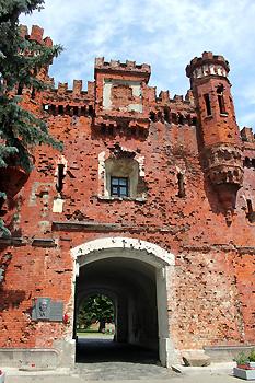 Холмские ворота Брестской крепости - одно из немногого, что уцелело после немцев