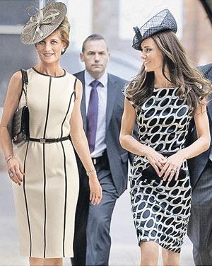 Постаревшая Диана вместе с Кейт Миддлтон. Такой увидят принцессу Уэльскую на обложке июльского номера журнала Newsweek.