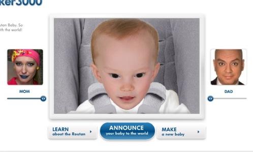 Вот так будет  выглядеть ребенок Киркорова и Осадчей.