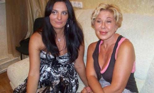 Елена Ваенга с певицей Любовью Успенской.