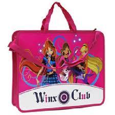 """65315. Папка-портфель  """"Winx Club """" станет замечательным..."""