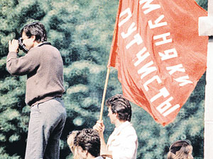 Москва, 19 августа 91-го: народ против ГКЧП