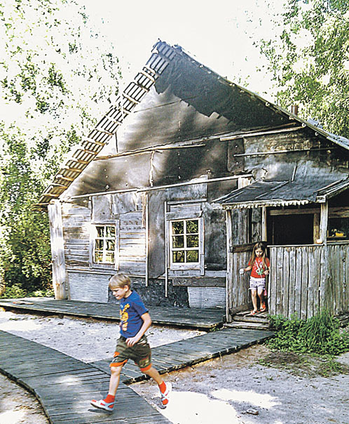 Довлатовский дом - приманка для любознательных детишек