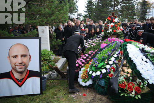 Александра похоронили на Старо-Северном кладбище