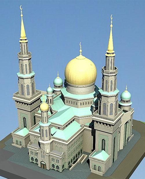 Проект новой мечети