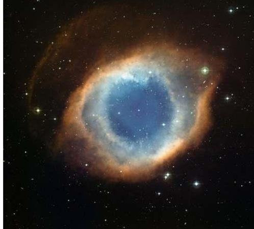 Самая известная туманность - «Глаз Бога».