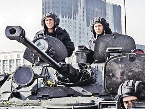 4 октября 1993 года танкисты Таманской дивизии  поставили точку в противостоянии Верховного Совета и президента Ельцина