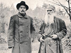 Максим Горький и Лев Толстой в начале прошлого века были всемирно известными писателями... Но, увы, по мнению шведских академиков, неидеалистами