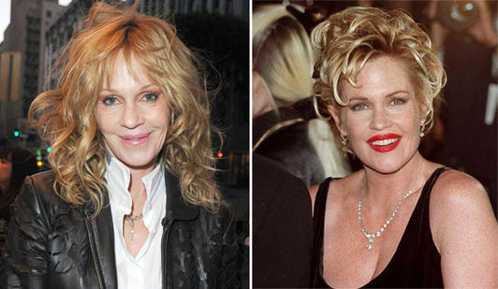 На фото: Мелани сейчас и в 1996 году. Фото: Daily Mail.